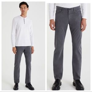 AG The Graduate Tailored Fit Gray Pants